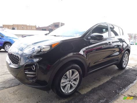 kia sportage black 2017 black cherry kia sportage lx awd 111986536 photo 7