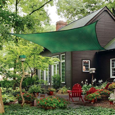 Backyard Sun Shades by Sun Shade Sail Square Evergreen Shade Cloth And Sails