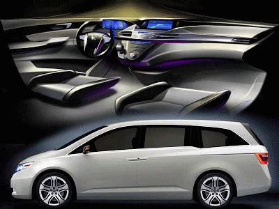 master design car  honda odyssey minivan concept