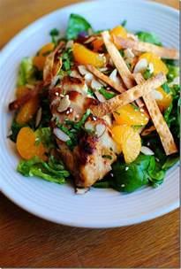 Sesame Asian Chicken Salad