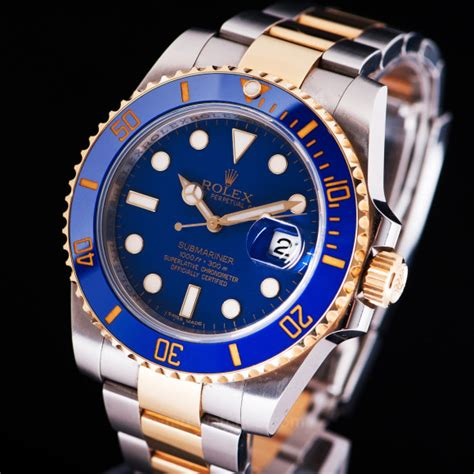 Rolex Submariner Date Ref: 116613LB Two-tone gold/steel ...