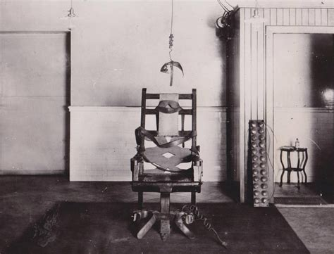 chaise électrique the execution by electric chair william kemmler