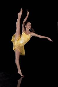 Slow Modern Dress - Shine Yellow & Gold Dance Costume ...