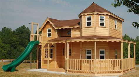diy wooden playhouse kit plans  wooden playset