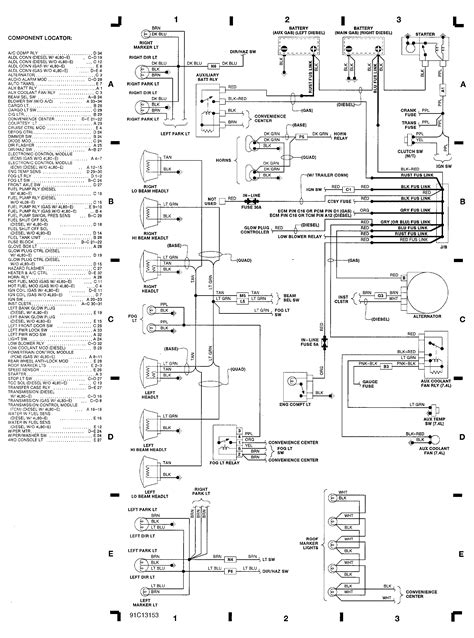 engine compartment wiring diagram  chevrolet