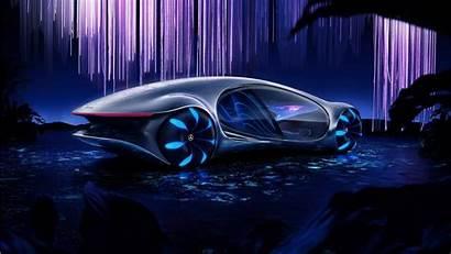 Mercedes Avtr Benz Vision Wallpapers 5k 1366