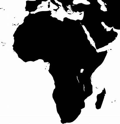 African Silhouette Clipart Africa Transparent Svg Webstockreview