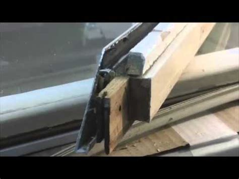 part biltbest oldach pella metal clad door window casement sash frame diy repairs youtube