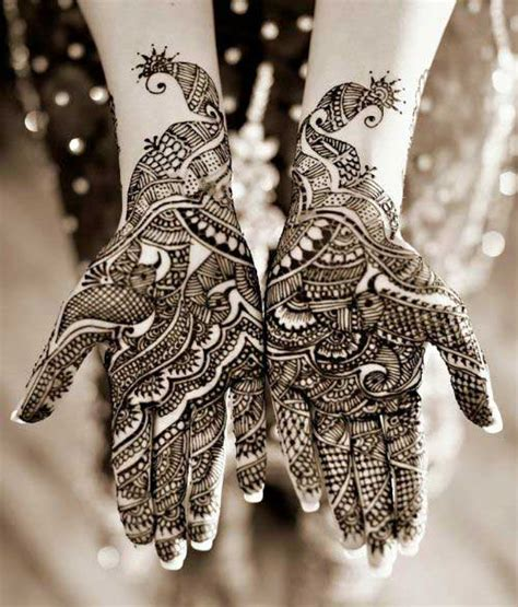 30 outstanding dulhan mehndi designs to inspire you