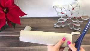 Deko Für Weihnachten : diy schneeflocke eiskristall basteln deko f r weihnachten youtube ~ Watch28wear.com Haus und Dekorationen