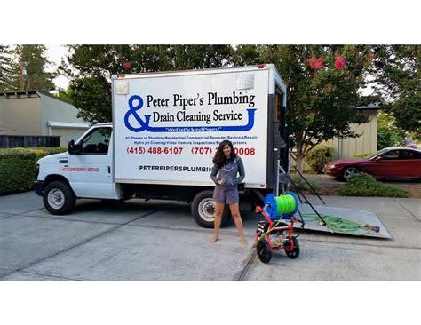 plumbing and drain service piper s plumbing drain cleaning service santa