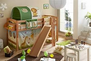Kinderhochbetten Mit Rutsche : ein bett mit rutsche sorgt f r mehr spa im kinderzimmer ~ Whattoseeinmadrid.com Haus und Dekorationen