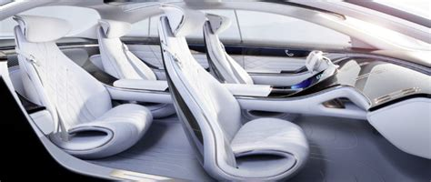 On the one hand this ambient light band creates special lighting moods inside the vehicle, but it can also communicate information to the. 10 Things You Didn't Know About the Mercedes Vision EQS