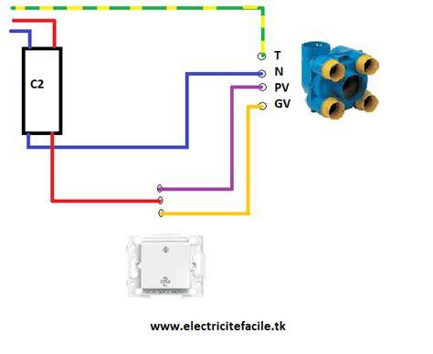 schema electrique comment brancher une vmc