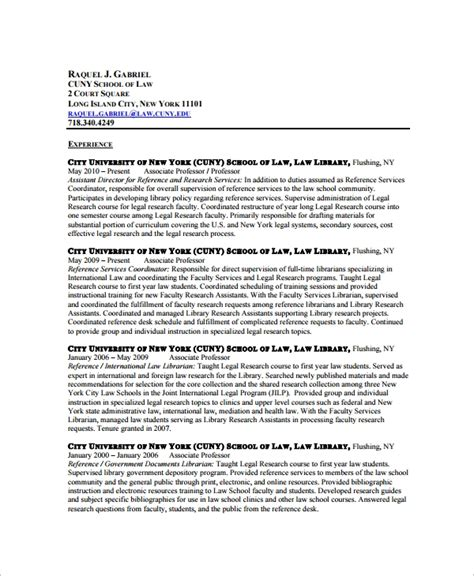 sle librarian resume 9 free documents download in