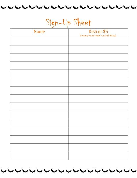 halloween party sign  sheet festival collections