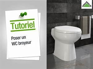 Leroy Merlin Toilette : comment poser un wc broyeur leroy merlin youtube ~ Louise-bijoux.com Idées de Décoration