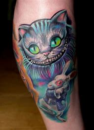 Best Cheshire Cat Tattoo Ideas And Images On Bing Find What You