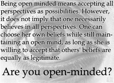 Open Minded Quotes By Famous People
