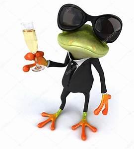 Frosch Bilder Lustig : lustige frosch mit glas sekt stockfoto julos 64248549 ~ Whattoseeinmadrid.com Haus und Dekorationen
