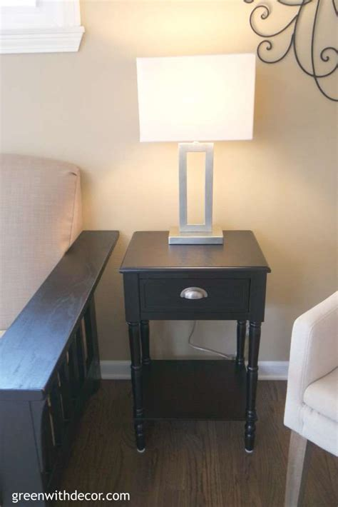 table ls at tj maxx green with decor family room reveal before and after