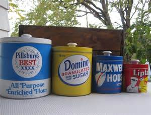 vintage metal kitchen canister sets vintage j l clark metal kitchen canister set pillsbury domino