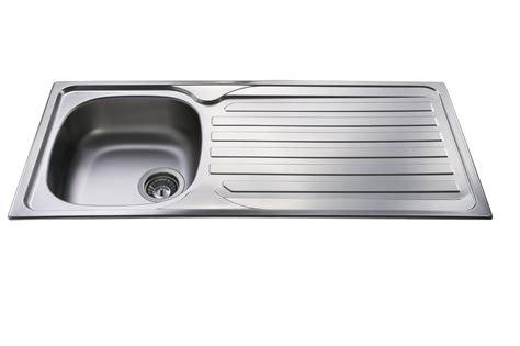 steel kitchen sinks cda ka21 single bowl sink in stainless steel 2505