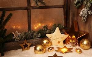 Photo Collection Christmas Decorated Window Wallpaper
