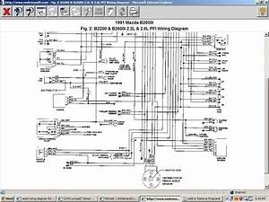 Mazda B2600 Wiring Diagram