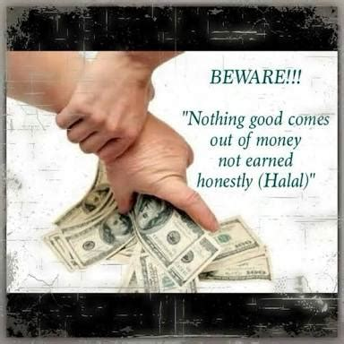 islamic quotes  wealth quran  money matters