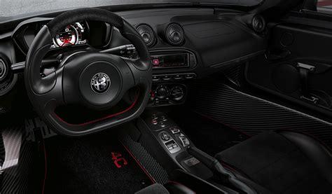 Alfa 4c Interni Alfa Romeo 4c Competizione Edizione Limitata Alfa Romeo