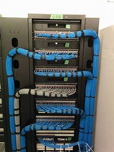 Serious Patch Panel Install  Cat 5e Ethernet Wiring