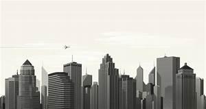 Vector City Skyline Vol1   Decorative Vectors   Pixeden