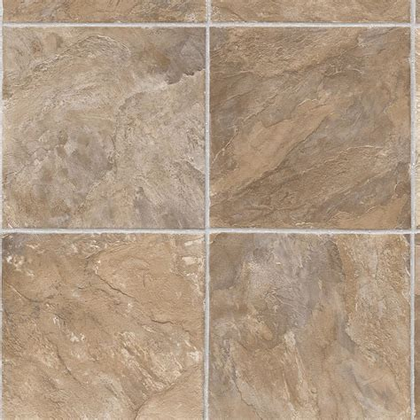 tile flooring rustic trafficmaster take home sle rustic slate neutral vinyl sheet 6 in x 9 in s030hdba526