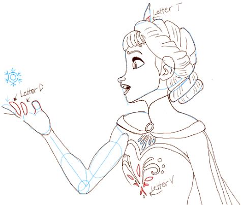 draw elsa  frozen   draw step  step