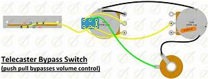 Volume Bypass Switch For Telecaster