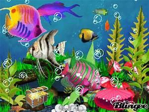 animated aquarium Picture #92157417 | Blingee.com