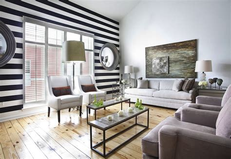 Striped Wallpaper Living Room Ideas by Purvi Joshi S Blogs Accent Wall Tips To Design Your
