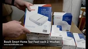 Bosch Smart Home Test : bosch smart home set test fazit nach 2 wochen youtube ~ Frokenaadalensverden.com Haus und Dekorationen