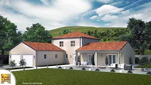 maison avec tour carree idees de decoration With plan maison avec tour carree