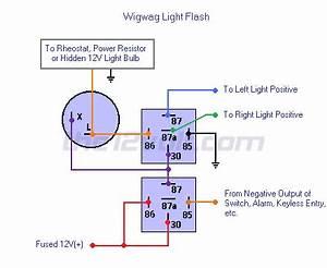 Wigwag Flashing Lights  Positive Output