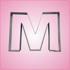 big letter m cookie cutter cheap cookie cutters With large letter cutters