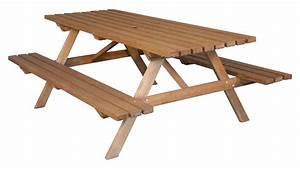 Table Bois Exterieur : meuble exterieur bricoman ~ Teatrodelosmanantiales.com Idées de Décoration
