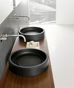 18 idees design de lavabo pour votre salle de bain moderne With salle de bain design avec lavabo rond à poser