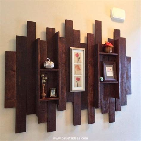 Pallet wall decor Ideas   Pallet Idea