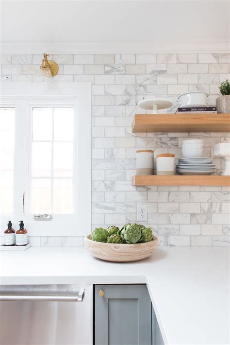 marble subway tile kitchen backsplash 20 kitchen backsplash ideas that totally steal the show homelovr