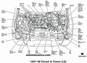 Engine Diagram Mercury Milan