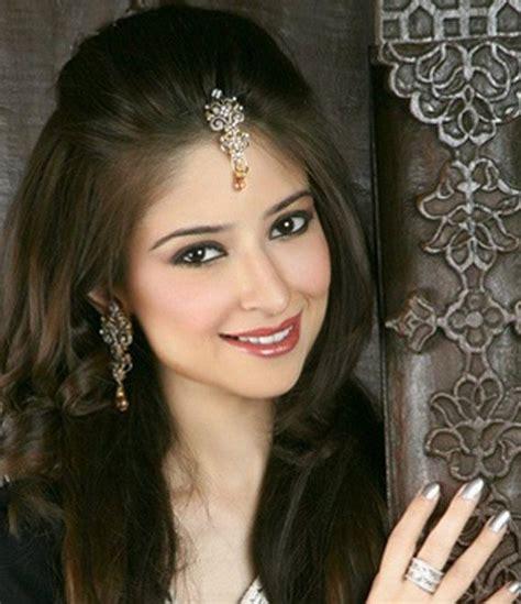 open hair styles  hair styles  sarees