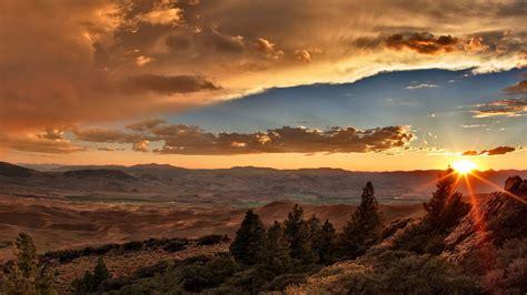 beautiful mountain sunset sunset mountain wallpapers