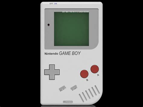 Old School Nintendo Gameboyautodesk Online Gallery